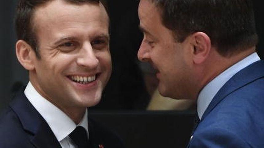 Die Chemie zwischen Xavier Bettel und Emmanuel Macron stimmt.