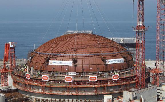 Das Kernkraftwerk in Flamanville war bereits im Februar wegen eines Störfalls in den Schlagzeilen.