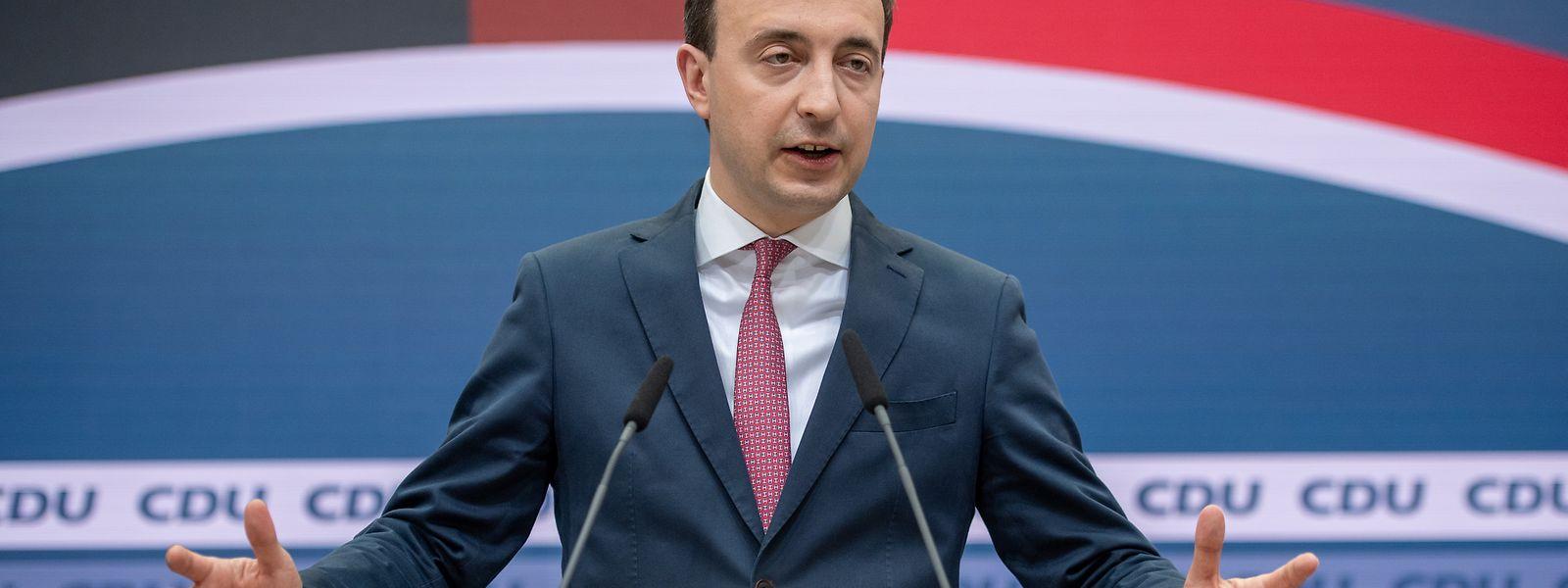 CDU-Generalsekretär Paul Ziemiak erklärt, wie sich die CDU künftig neu aufstellen will.