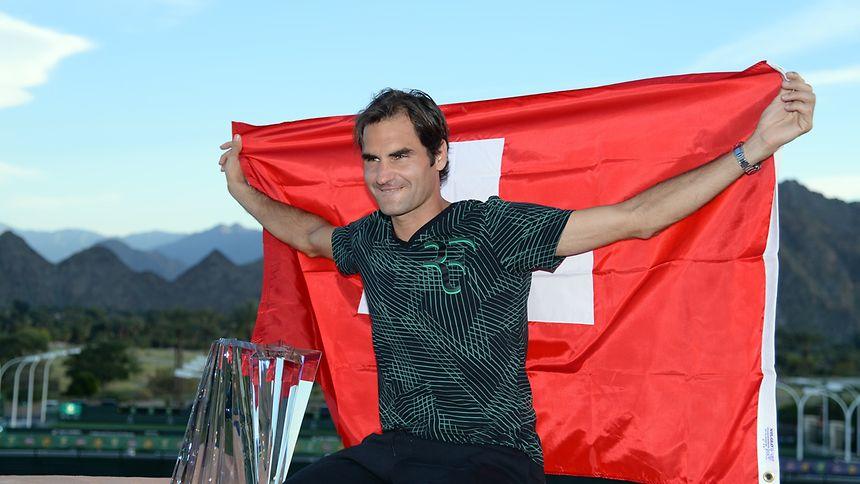 Roger Federer überholte den US-Amerikaner Andre Agassi.