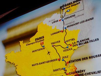 Streckenvorstellung der Tour de France 2017 - Foto: Serge Waldbillig