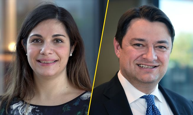 Nicolas Gillet, EY Luxembourg Transfer Pricing Partner and  Chiara Palmieri, EY Luxembourg Manager Transaction Financial Engineering & Transfer Pricing
