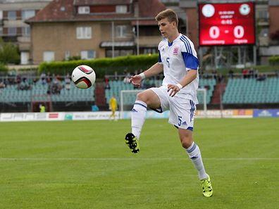 Gegen Nigeria feierte Florian Bohnert sein Länderspieldebüt.