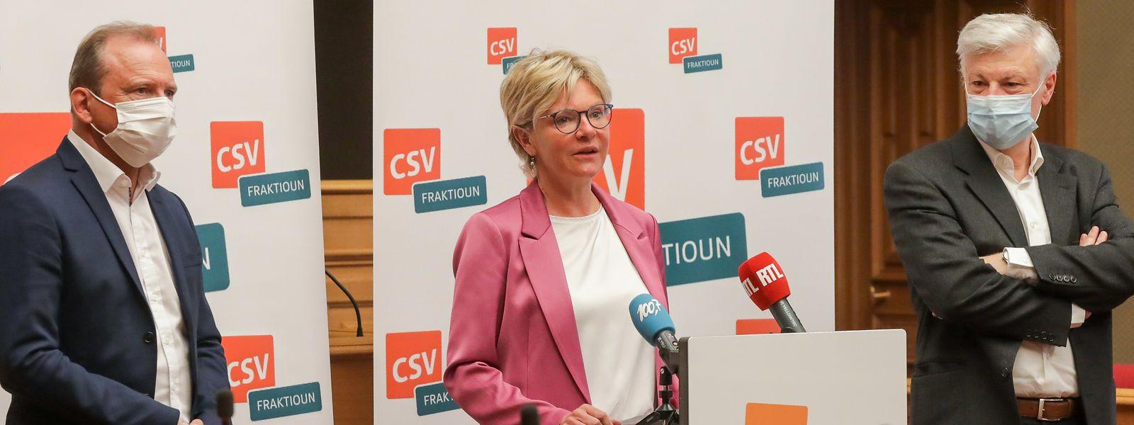 La fraction CSV tiendra désormais un point presse mensuel pour faire connaître les positions du parti sur l'actualité luxembourgeoise.