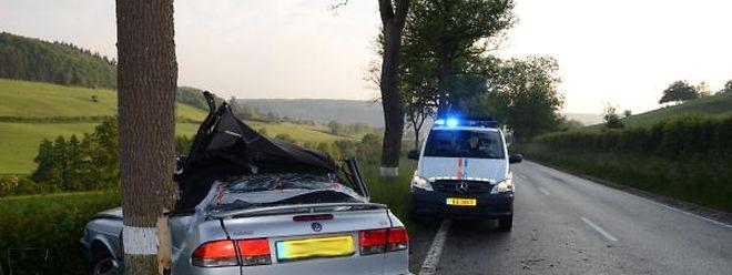 Immer wieder kommt es auf der Strecke Mersch-Angelsberg zu tödlichen Unfällen.