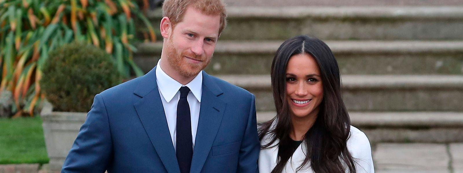 Prince Harry und Meghan Markle wollen am 19. Mai heiraten.
