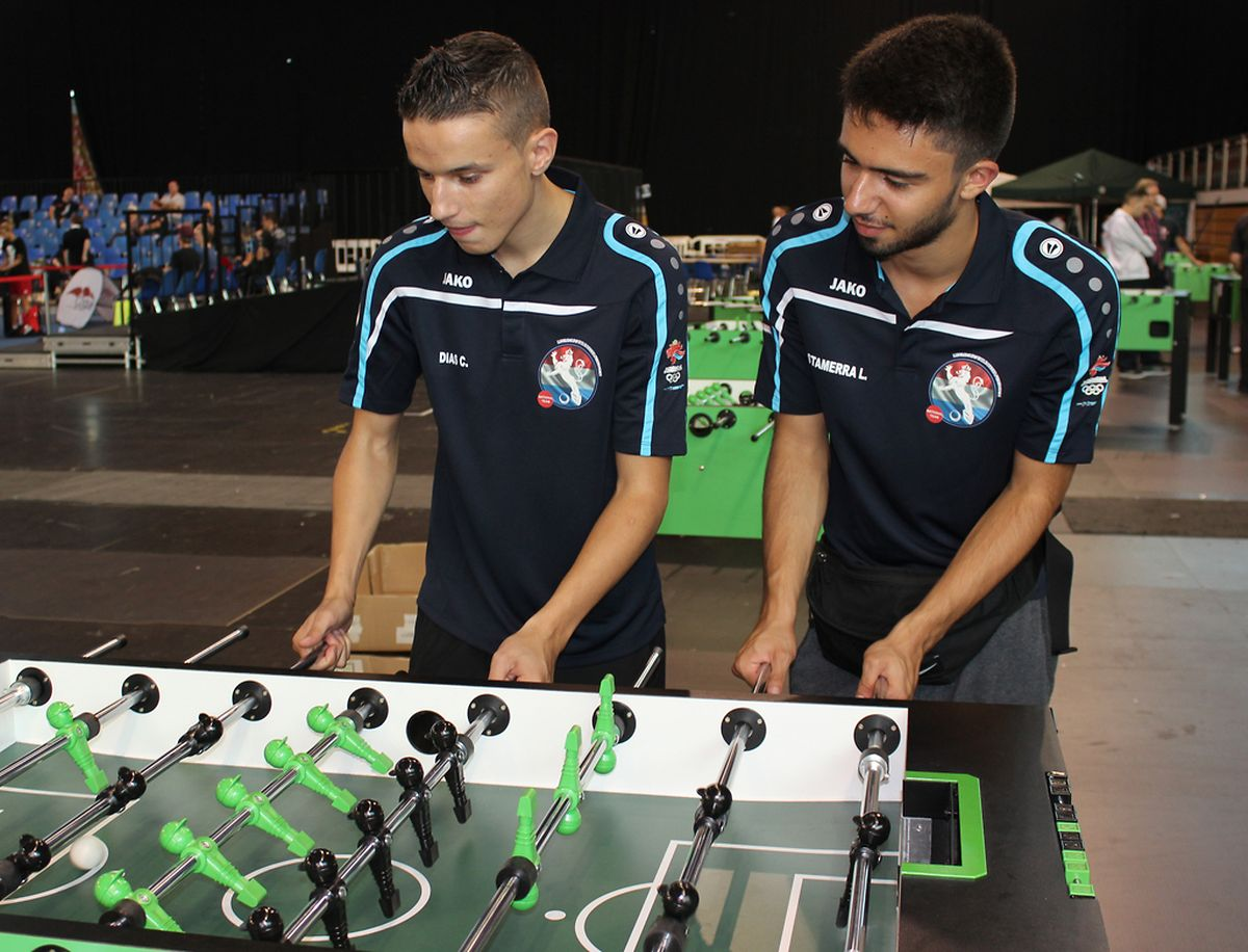 Christophe Dias e Leonardo Stamerra, campeões mundiais em duplos