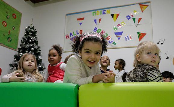 """Die Kindertagesstätte """"La colline aux enfants"""" setzt seit 2012 auf sprachliche Frühförderung."""
