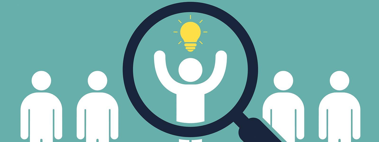 Ein Ziel für Luxemburger Arbeitgeber: das richtige Talent finden.