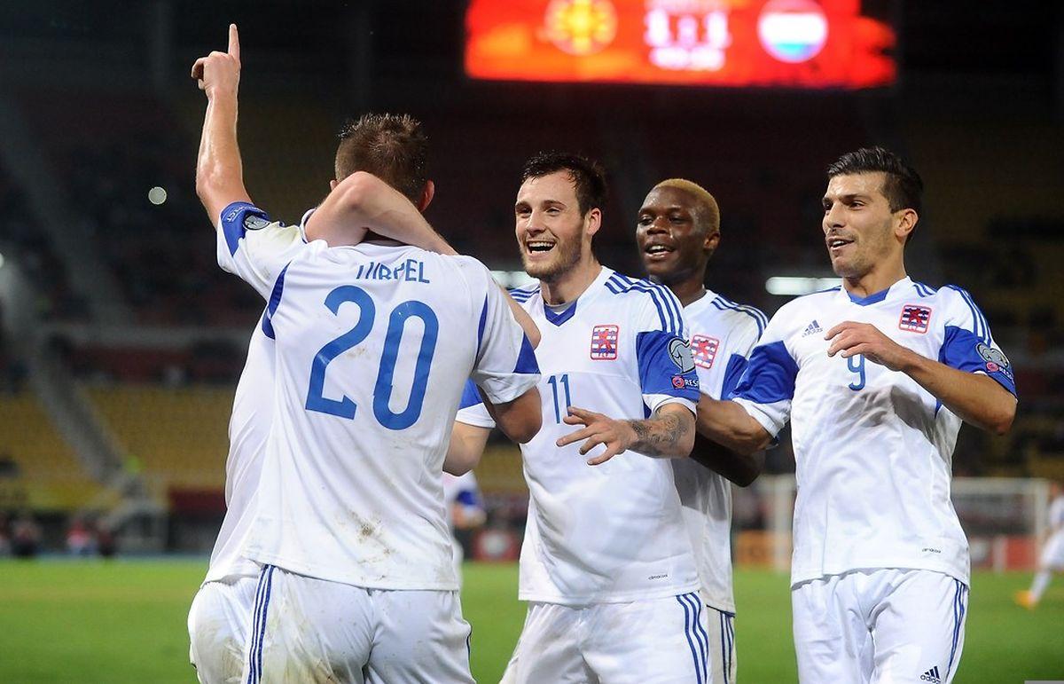 Le Luxembourg méritait beaucoup mieux qu'une courte défaite jeudi soir à Skopje