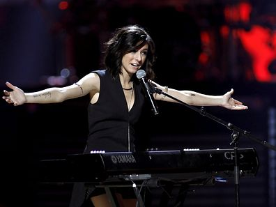 Macy's iHeartRadio Rising Star singer Christina Grimmie performs during the 2015 iHeartRadio Music Festival at the MGM Grand Garden Arena in Las Vegas, Nevada September 18, 2015. REUTERS/Steve Marcus/File Photo