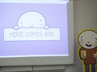 """""""Bod"""" is the main character of a new series of comic strips addressing all kinds of issues children and youngsters have to deal with."""