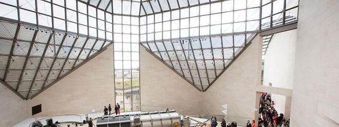 Das Mudam - ein junges Museum, und daher auch leicht angreifbar.