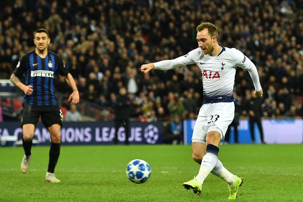 Christian Eriksen a permis à Tottenham de signer une deuxième victoire de rang dans la compétition.