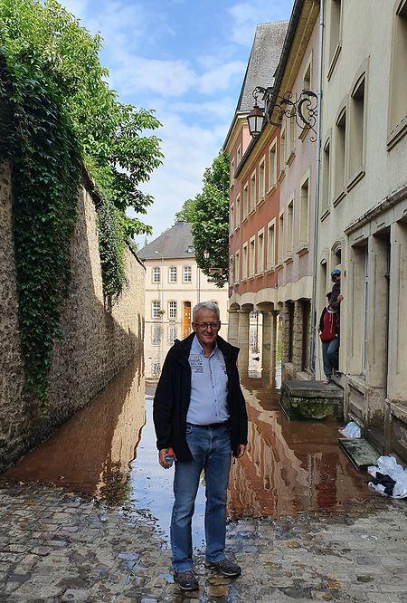 O presidente da câmara de Echternach, Yves Wengler.