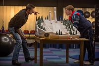 Eddie the Eagle Hugh Jackman Taron Egerton