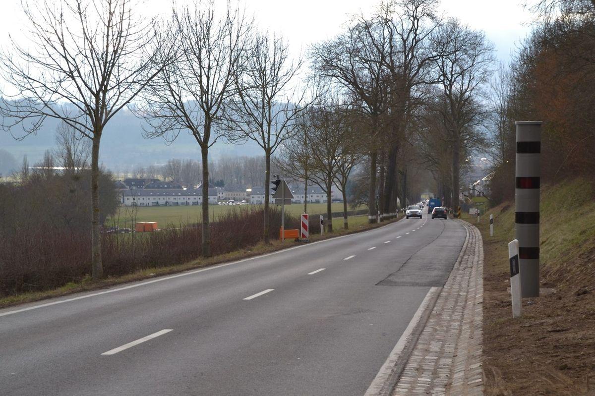Obwohl der Radar zwischen Angelsberg und Mersch noch nicht in Betrieb ist, erfüllt er bereits seinen Zweck: Die Autofahrer fahren deutlich langsamer.