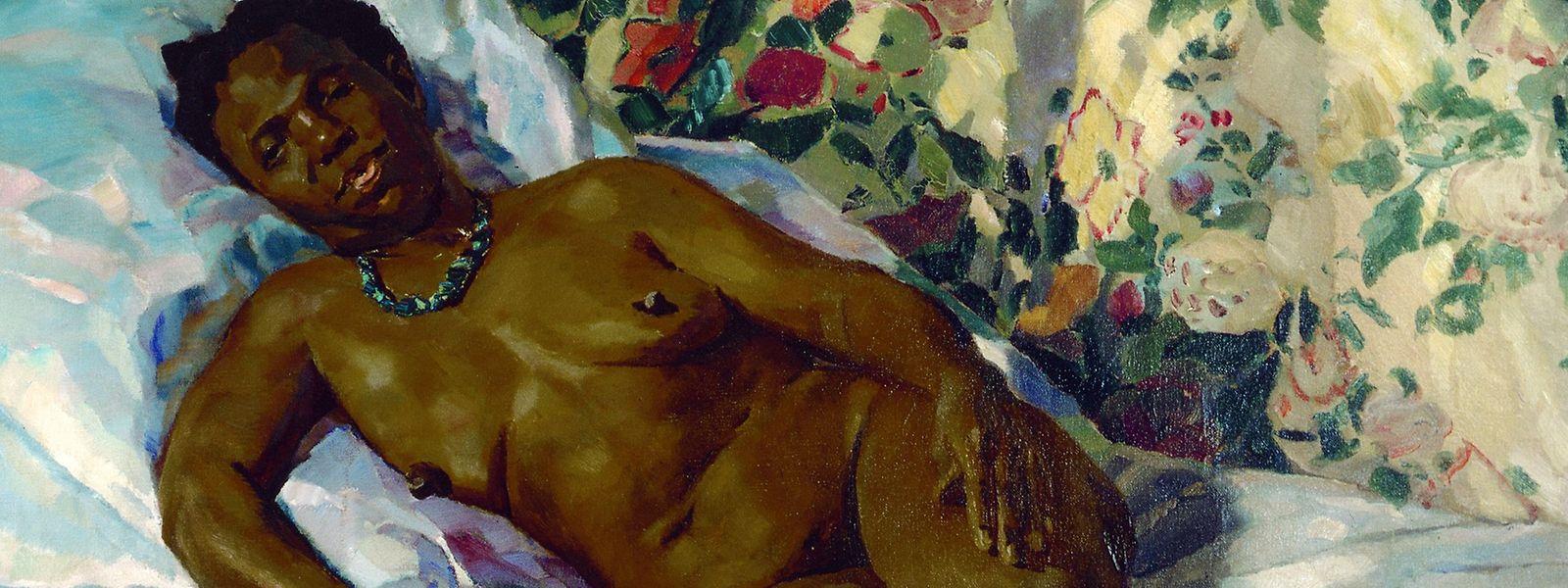 """Das kommende Ausstellungsjahr verspricht viele interessante Schauen. So wird """"Die Liegende (Miss Robinson)"""" von Albert Weisgerber in der Schau """"Plakeg!"""" in der Villa Vauban zu sehen sein."""