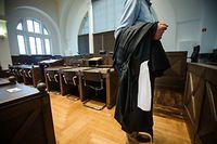 Der Angeklagte war nicht zum Prozess erschienen und hatte somit die Möglichkeit einer Bewährungsstrafe verspielt. - Photo : Pierre Matgé