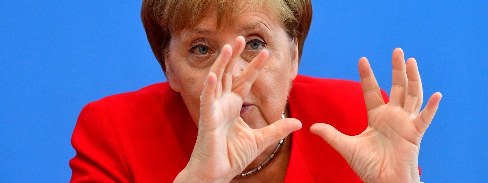 La chancelière Angela Merkel n'a pas ouvertement désigné la Ligue de Matteo Salvini dans ses propos.