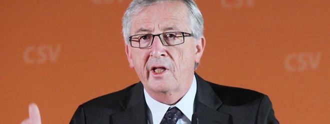 """Jean-Claude Juncker: """"Die Wähler entscheiden, wer die besten Konzepte zur Überwindung der Probleme des Landes hat"""""""