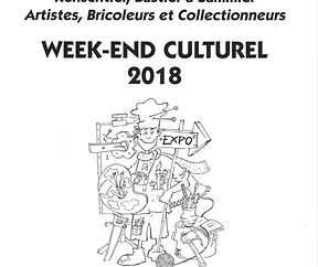 WEEK – END CULTUREL 2018