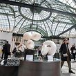 Kultur , Expo The color of revelations , the fine craft & creation biennial , Luxembourg , country of honour , Expo Mains de Maitres a Paris , Grand Palais , Luxemburg Ehrengast , der luxemburgische Stand Foto: Guy Jallay/Luxemburger Wort