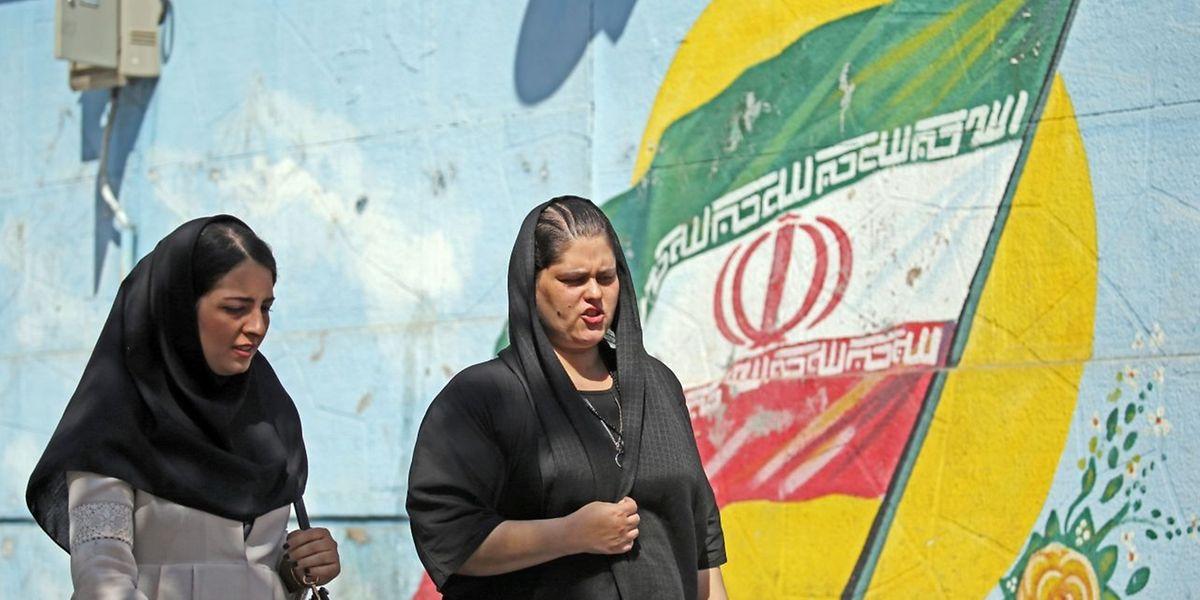 Im Iran kündigt sich eine verschärfte Tonlage gegenüber den USA an.