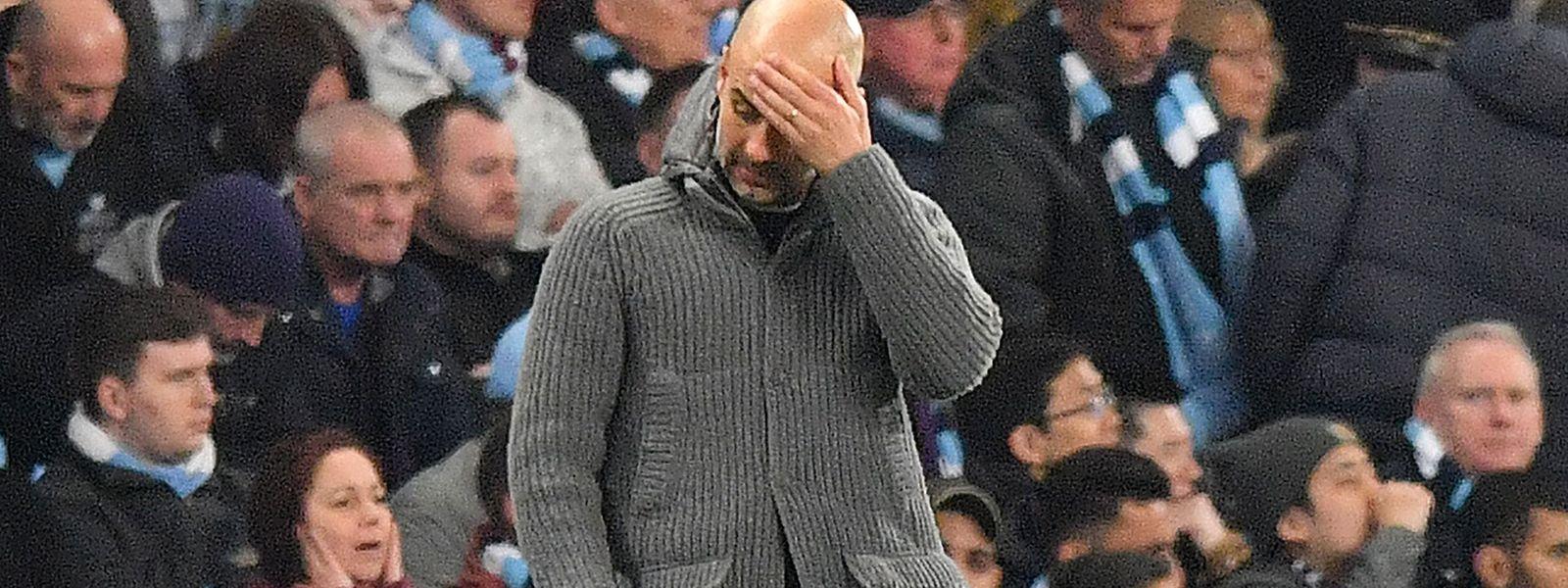L'avenir de l'entraîneur Pep Guardiola, à qui il ne reste qu'une année de contrat, est certainement remis en question.