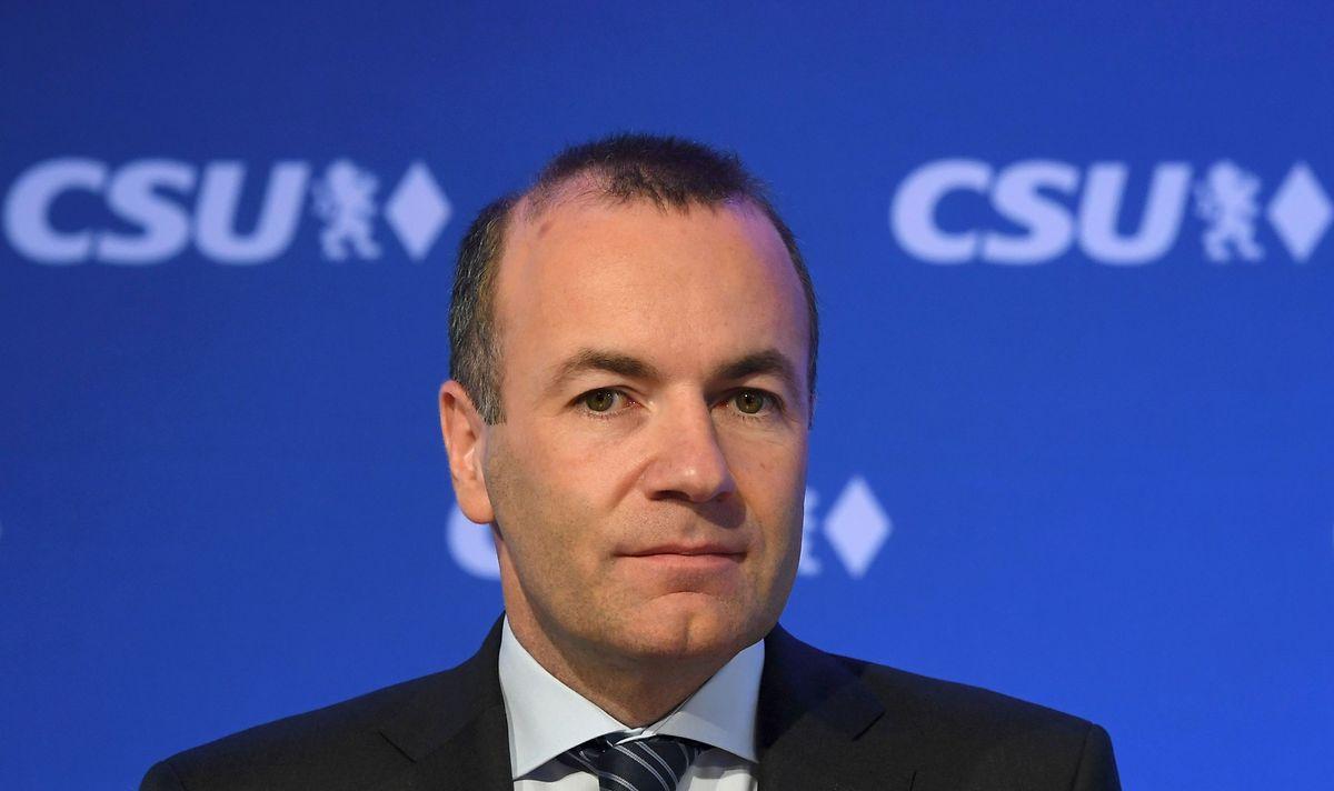 Manfred Weber, à la tête du groupe parlementaire du PPE depuis 2014.