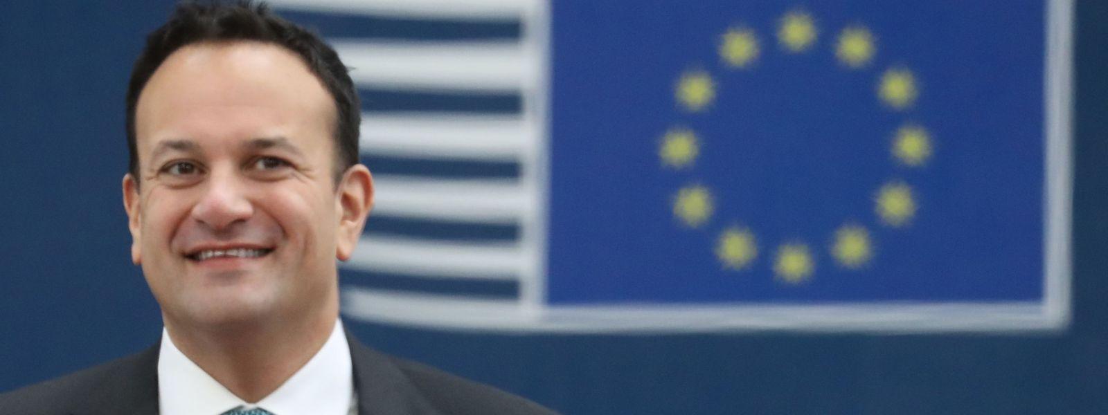 Irlands Premierminister Leo Varadkar beim EU-Haushaltsgipfel in Brüssel.