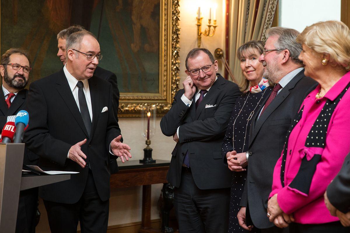 Claude Frieseisen, Secrétaire général: «Le samedi 28 septembre, nous organiserons des portes ouvertes à la Chambre des députés».
