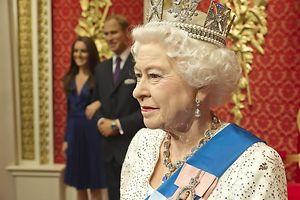 Die Queen bei Madame Tussauds.