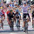 Bob Jungels (Quick-Step) gewinnt seine erste Etappe bei einem Grand Tour.