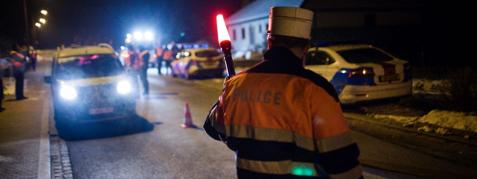 Im Schnitt führt die Polizei jährlich 180 groß angelegte Alkoholkontrollen durch.