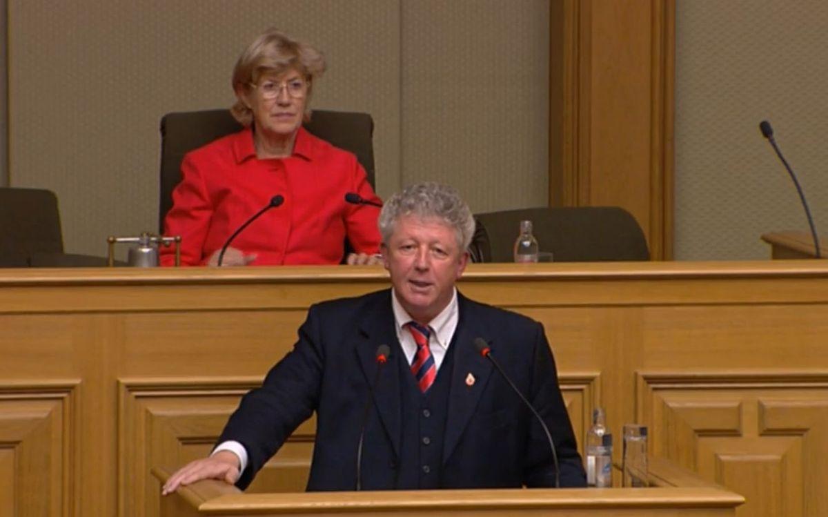 Roy Reding (ADR) sprach sich strikt gegen die Auslagerung von Kompetenzen aus.