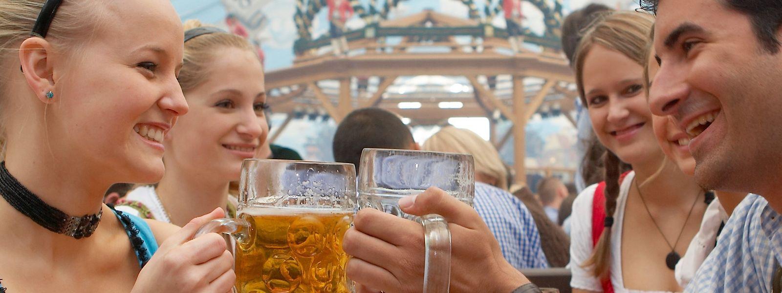 Bald starten wieder Oktoberfeste quer durch Deutschland.