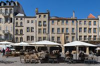 Metz, Place Saint Louis, Foto: Lex Kleren/Luxemburger Wort