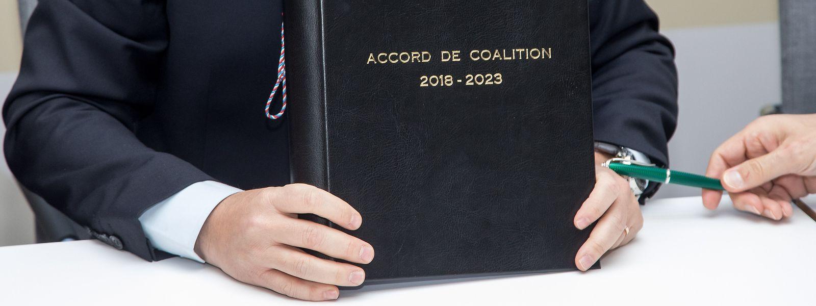 Es soll weiter an der Umsetzung des Koalitionsprogramms gearbeitet werden, betonte Eugène Berger.