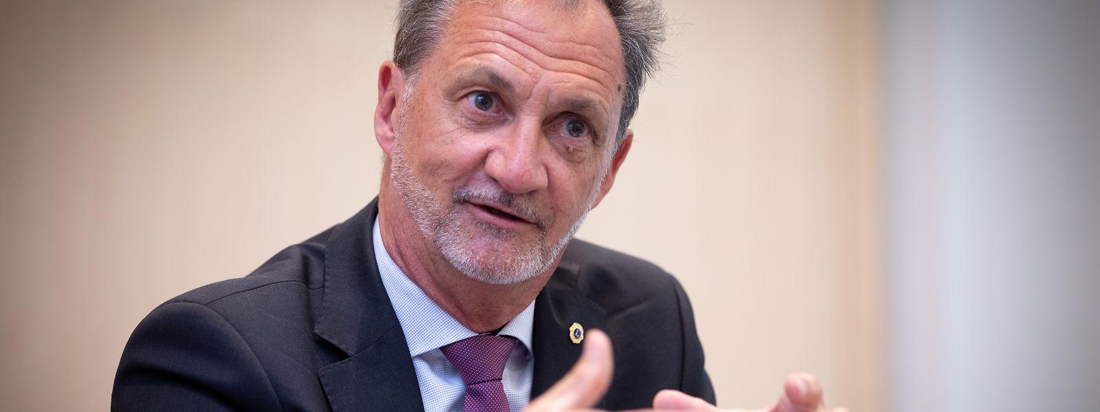 """""""Banken müssen ihr Geschäftsmodell anpassen"""": Marc Hemmerling verantwortet beim Bankenverband ABBL den Bereich Digital Banking, Fintech and Payments."""