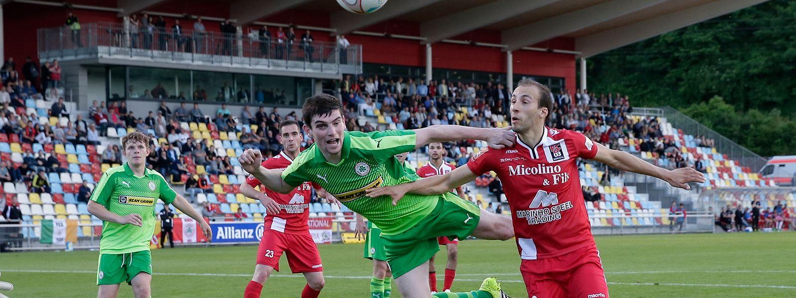 Um empate que não agradou ao FC Differdange