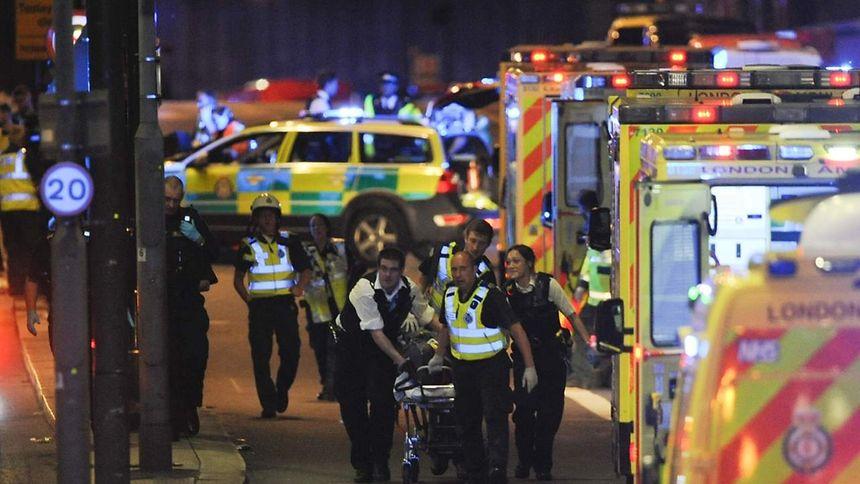 Zwölf Festnahmen nach Terroranschlag von London