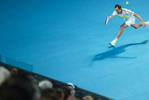 Australian Open: Medvedev lässt Tsitsipas keine Chance