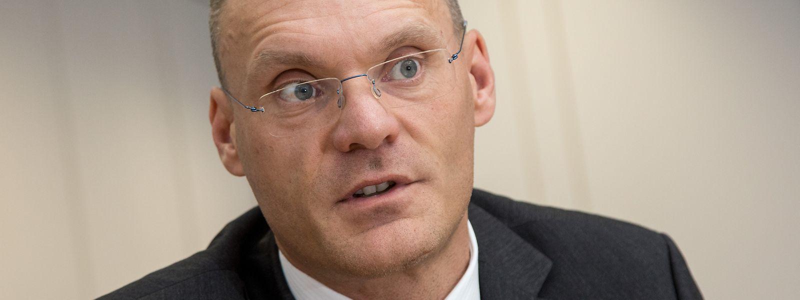 Der frühere hohe Beamte im Verteidigungsministerium, Gilles Feith, ist seit vergangenem Juni CEO der Luxair Group.