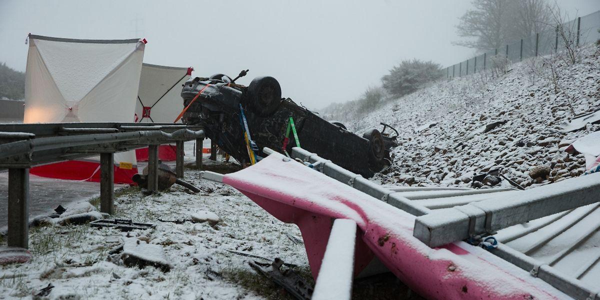 A causa do acidente ainda não foi revelada