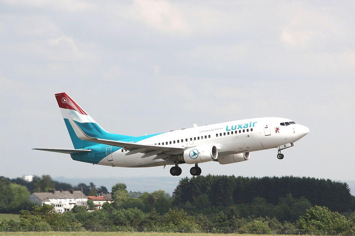 Avião da Luxair