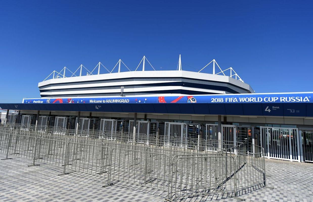 Baltika Arena (35.000 places). Matchs disputés (4): Croatie - Nigeria (16 juin), Serbie - Suisse (22 juin), Espagne - Maroc (25 juin), Angleterre - Belgique (28 juin).