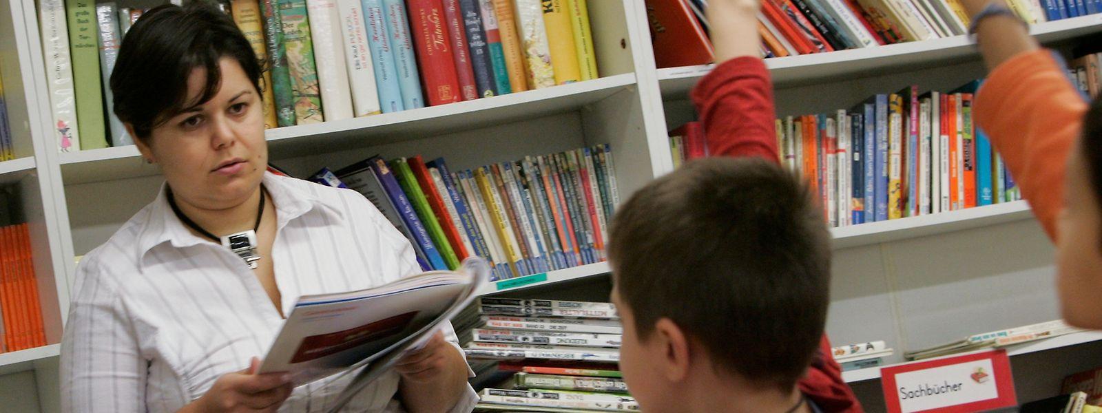 As mulheres continuam a dominar o corpo docente no Luxemburgo e na UE