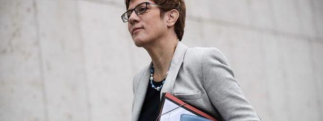 Die saarländische Ministerpräsidentin Annegret Kramp-Karrenbauer.