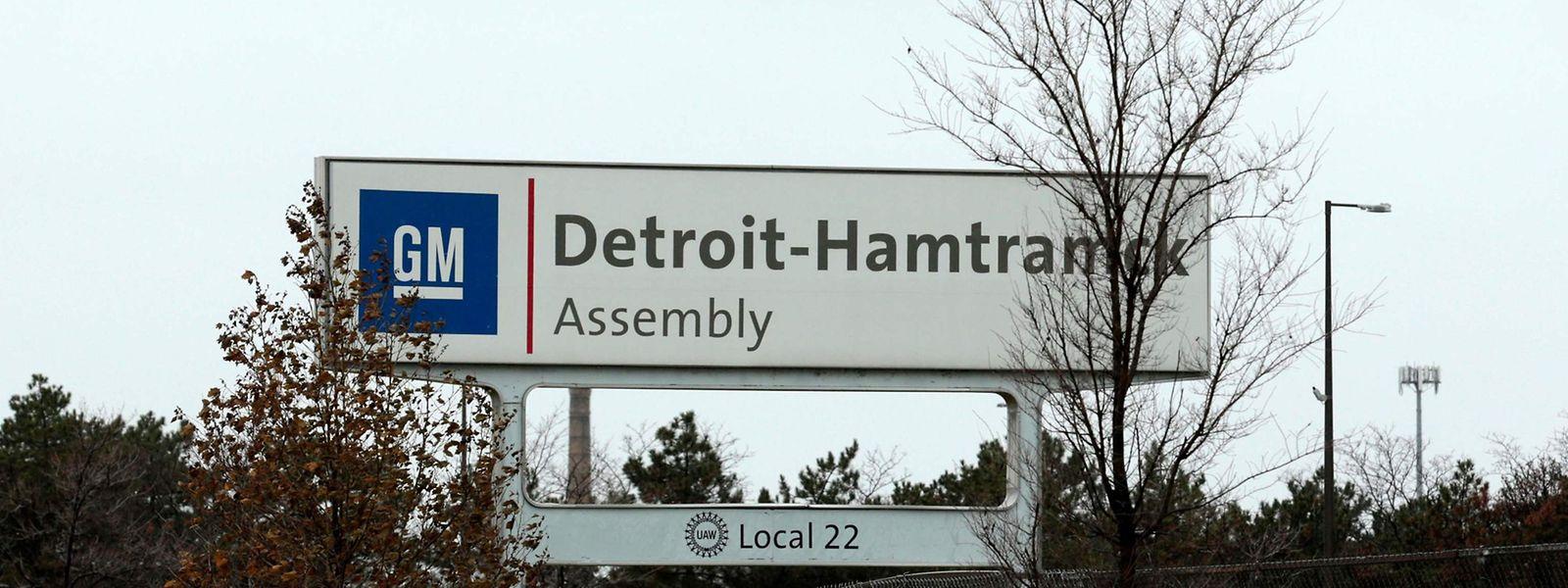 GM in Detroit-Hamtramck gehört zu den Werken, die schließen werden.